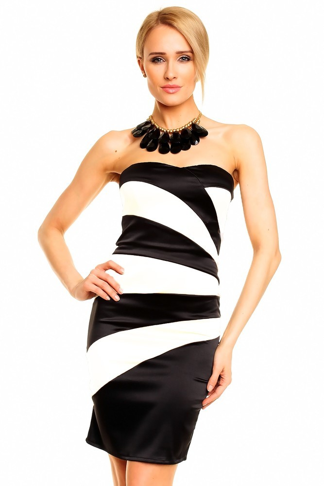 Dámské pouzdrové šaty hs-sa394bl