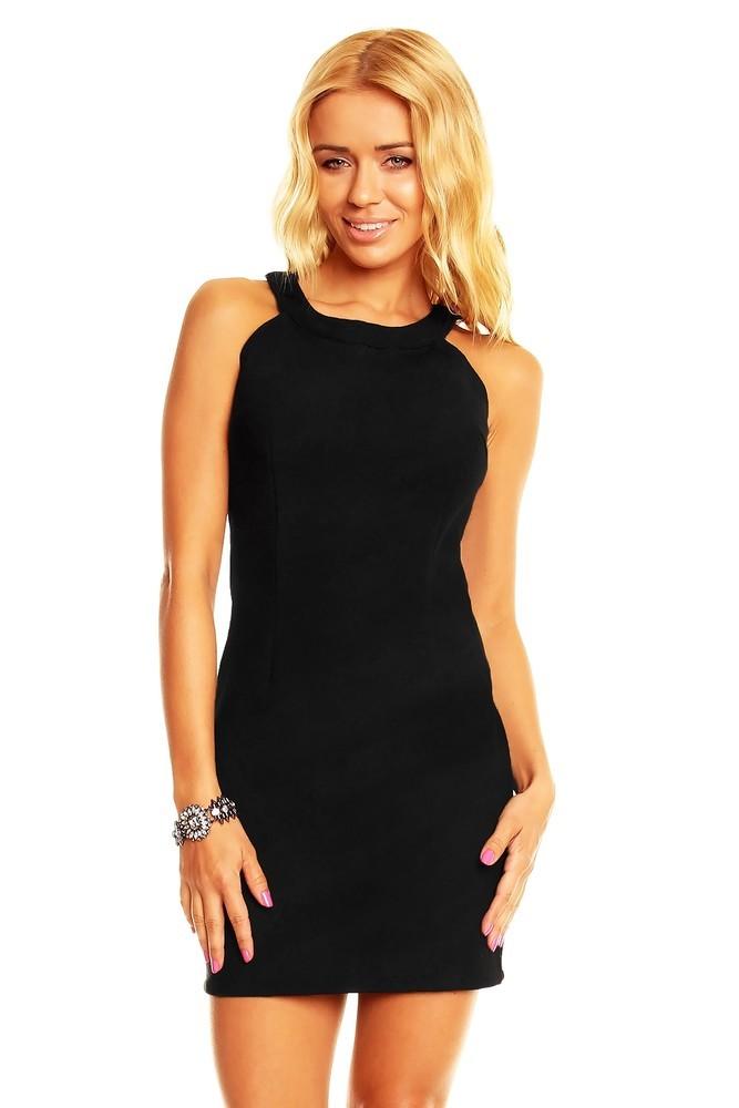 Dámské šaty - černé hs-sa400bl