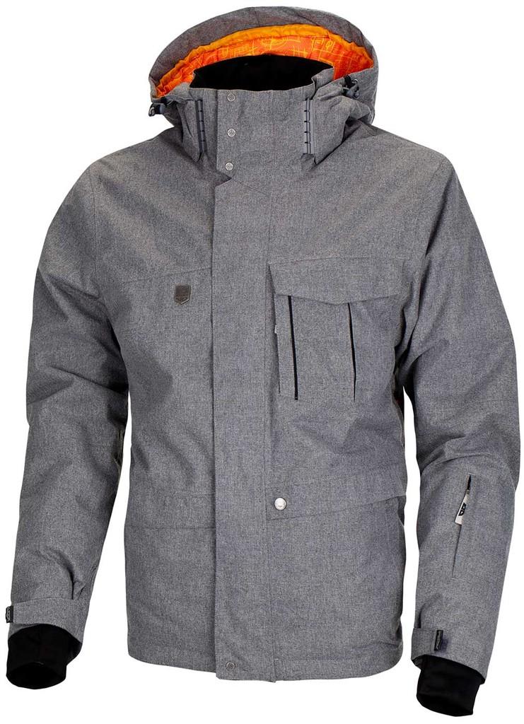 Pánská zimní bunda Twill Men´s Jacket Grey VOL II