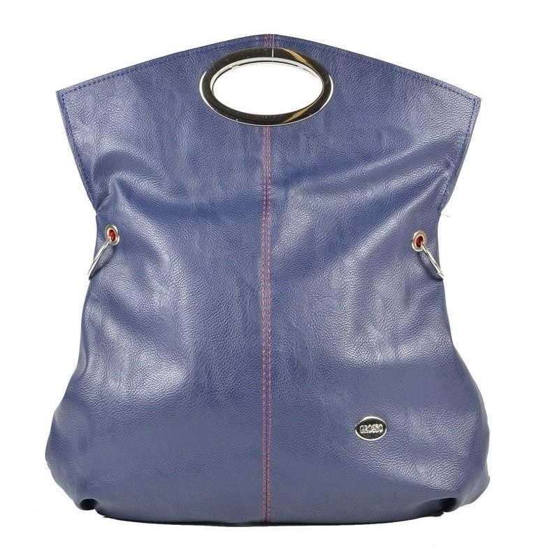 Trendová multifunkční kabelka S137 modrá