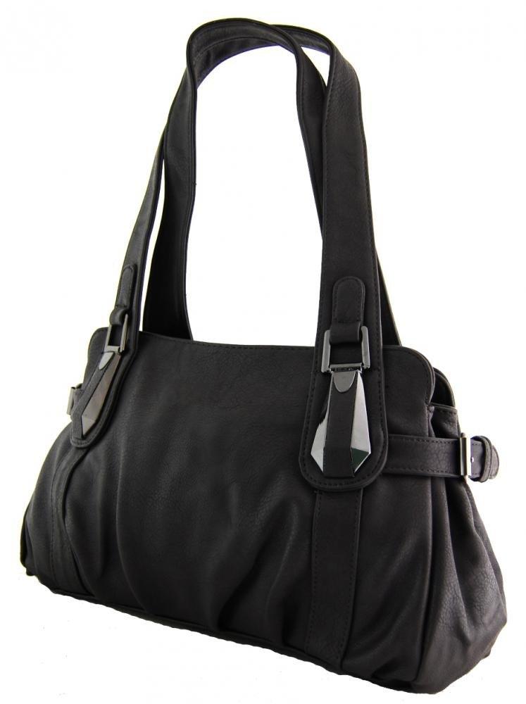 Dámská kabelka na rameno 803 tmavě šedá