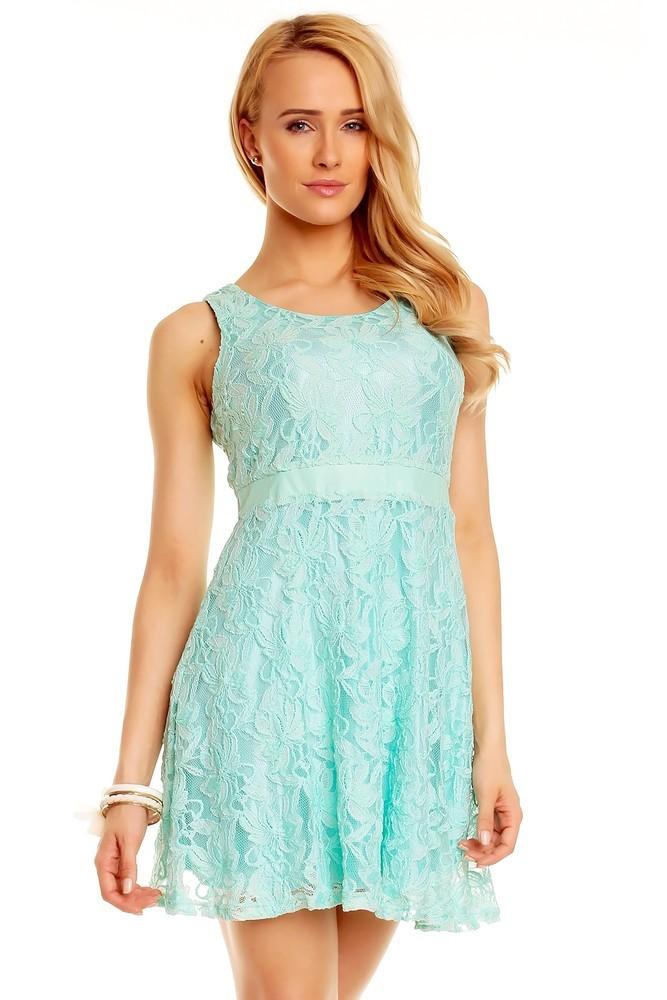 Koktejlové šaty modré hs-sa393ze