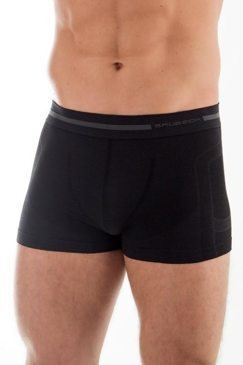 Pánské boxerky Wool BX 10430 black