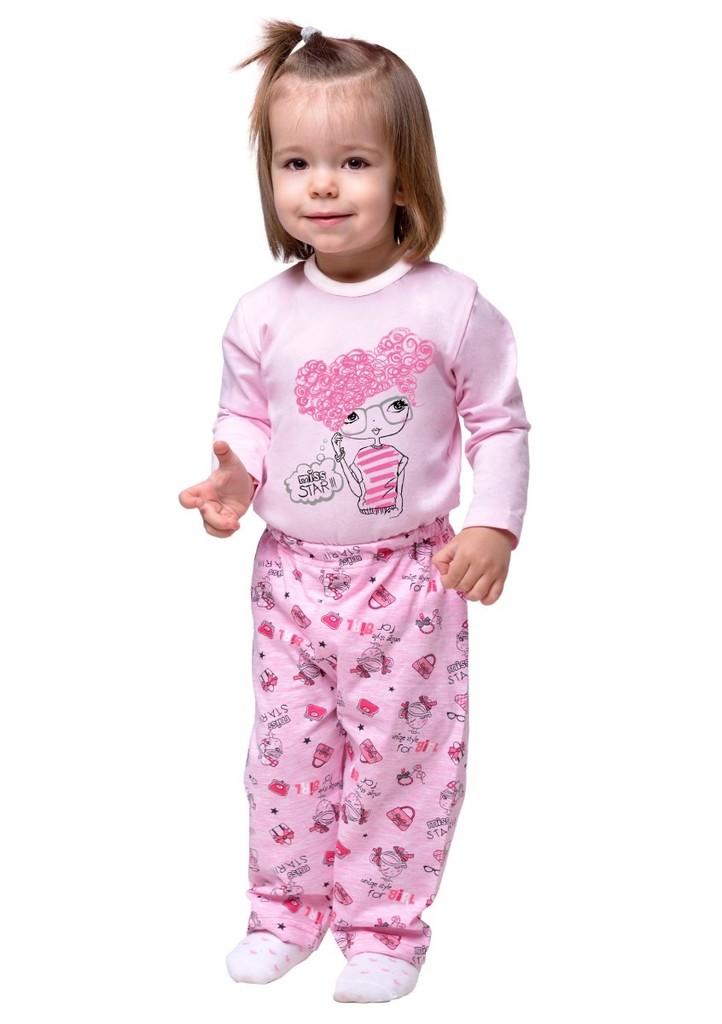 Dětské pyžamo s obrázkem panenky
