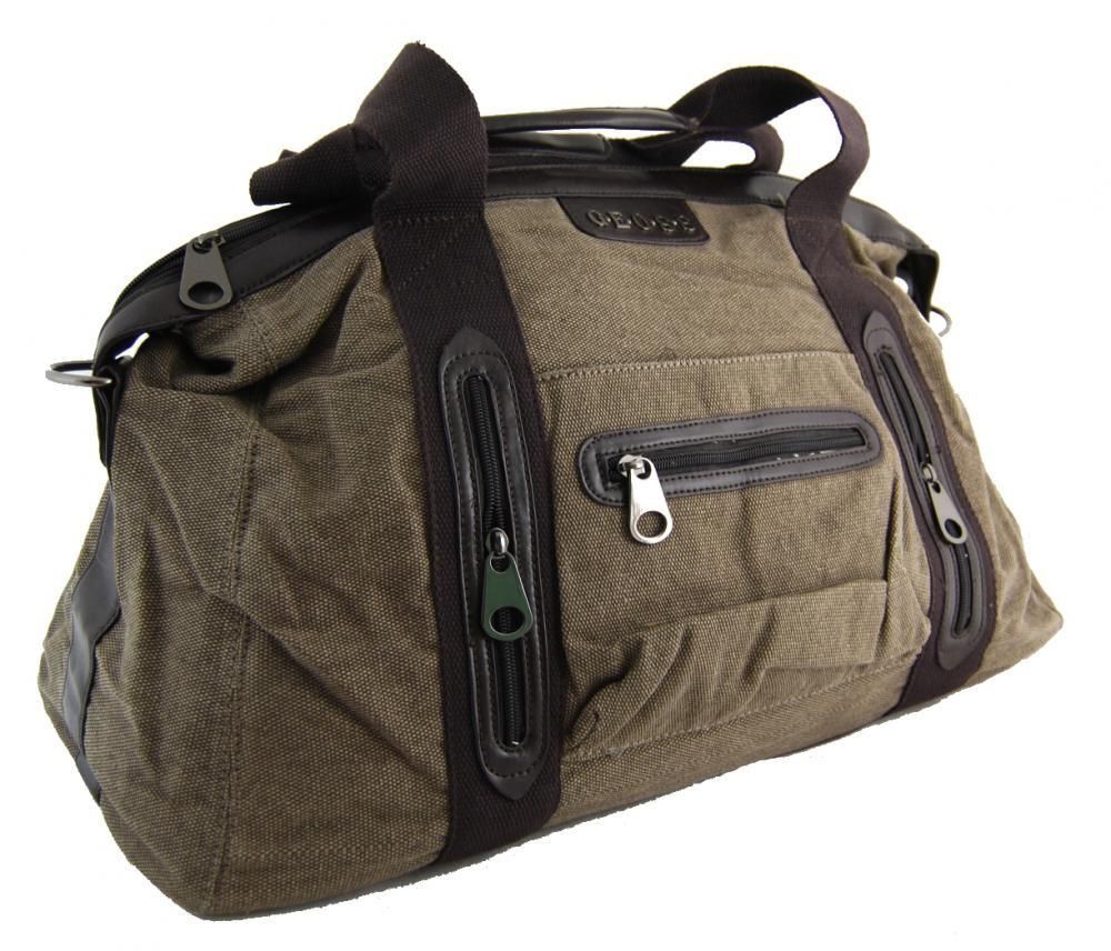 Pánská lehká cestovní taška 3071-1 khaki