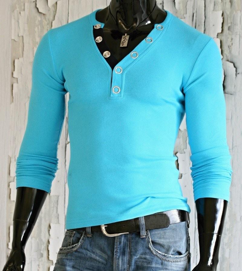 Pánská trička s dlouhým rukávem p-tr24mo