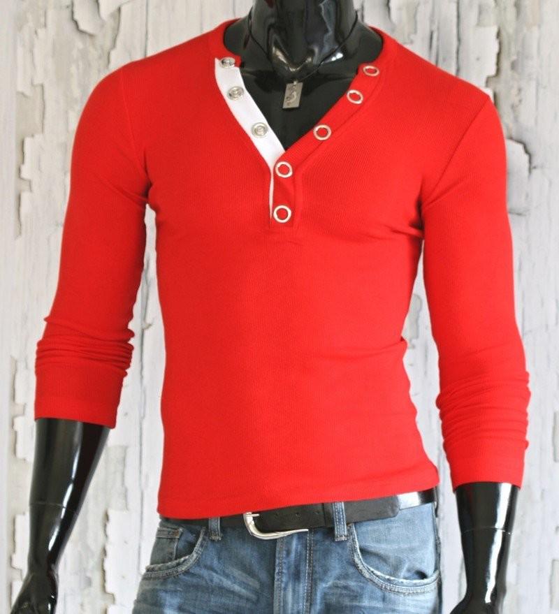 Pánská trika - červené p-tr24re