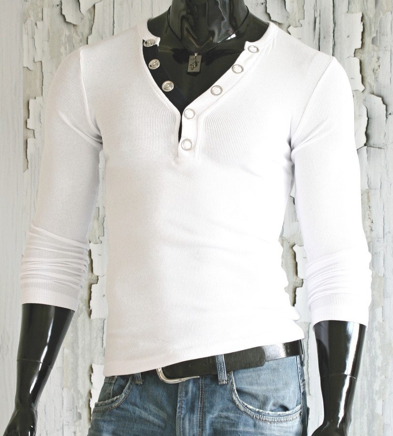 Pánské tričko - bílé p-tr24wh