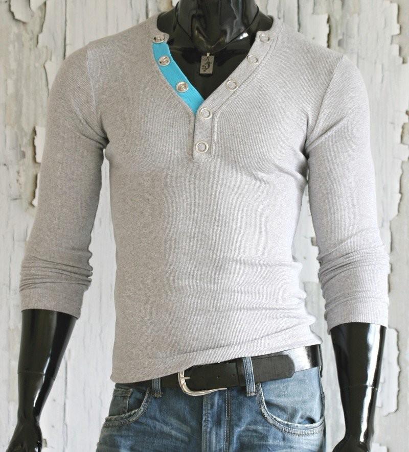 Pánské tričko - šedé p-tr24gr