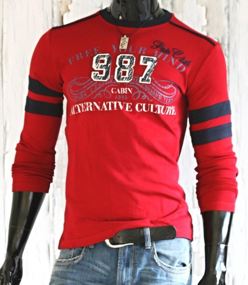 Pánské tričko červené p-tr25vi