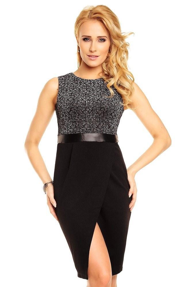Elegantní dámské šaty hs-sa396bl
