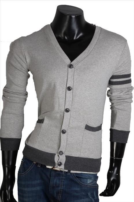 Elegantní pánský svetr p-sv011gr