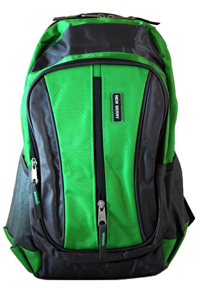 Batoh do města / do školy L673 zeleno-šedý
