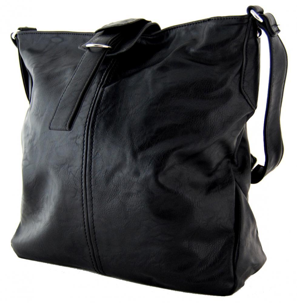 Dámská crossbody kabelka D1091 černá