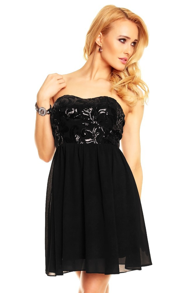 Společenské dámské šaty hs-sa414bl