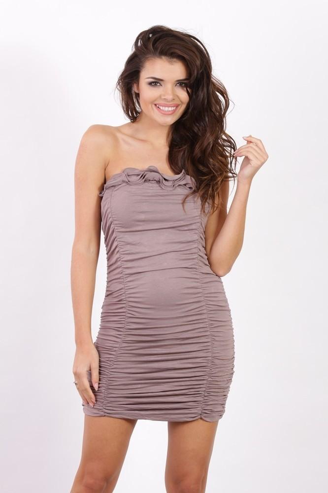 Elastické dámské šaty k5936ca