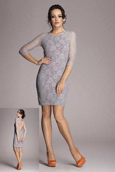 Krajkové šaty M076