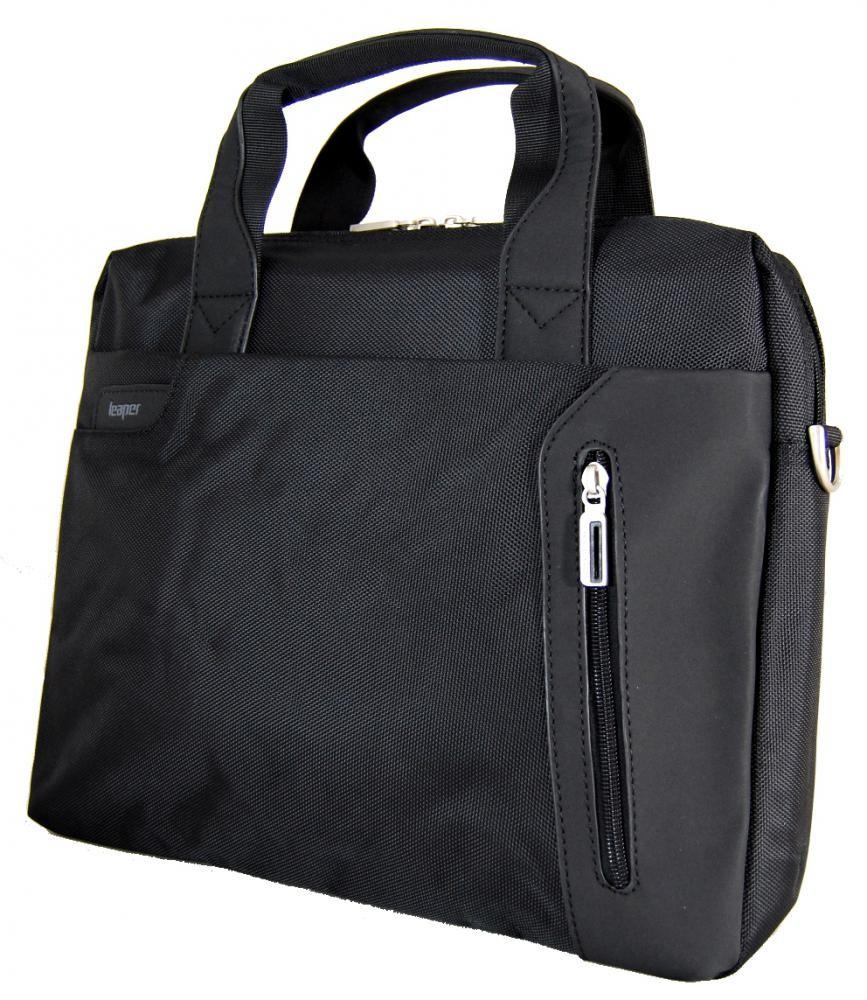 Kvalitní pánská univerzální taška na notebook Leaper 8505 černá
