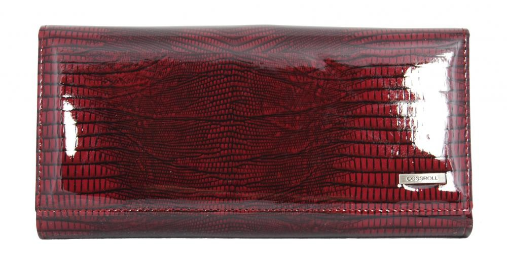 Dámská polokožená peněženka Cossroll C09-5242 červená