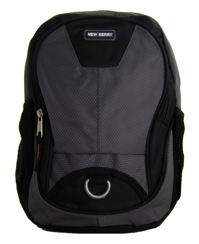 Dětský batoh / batůžek L679 šedo-černý