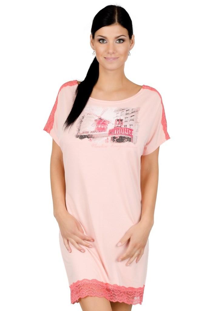 Dámská noční košile s obrázkem mlýnu