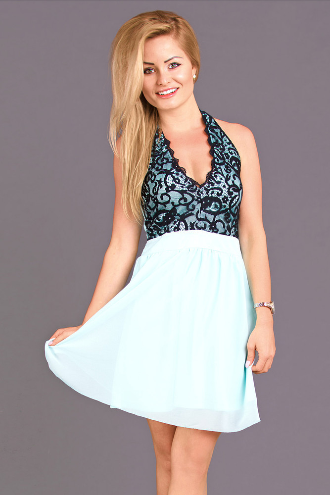 Dámské romantické šaty ns-sa04me