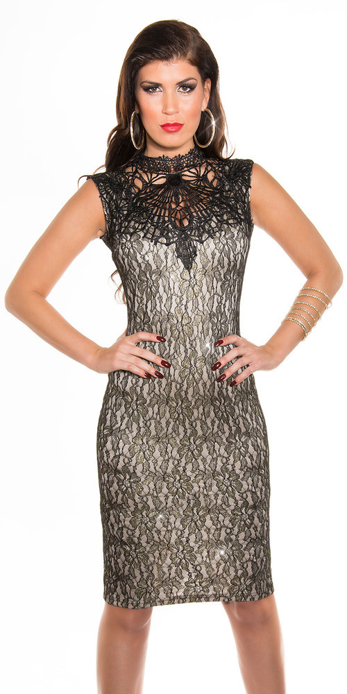 Společenské šaty s krajkou in-sat181be