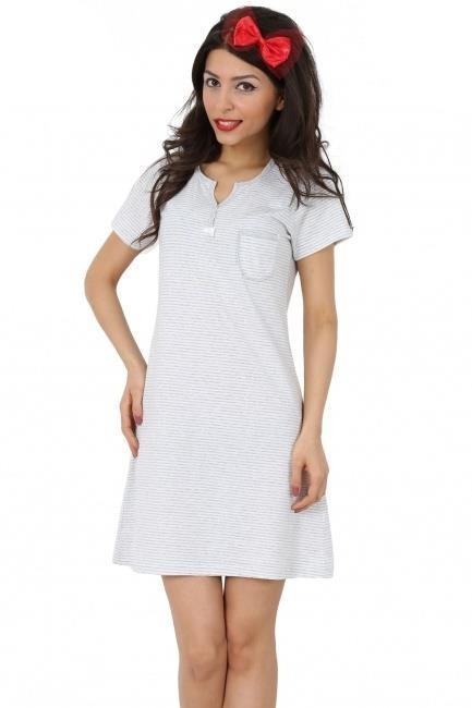 Bavlněná dámská noční košile Aneta
