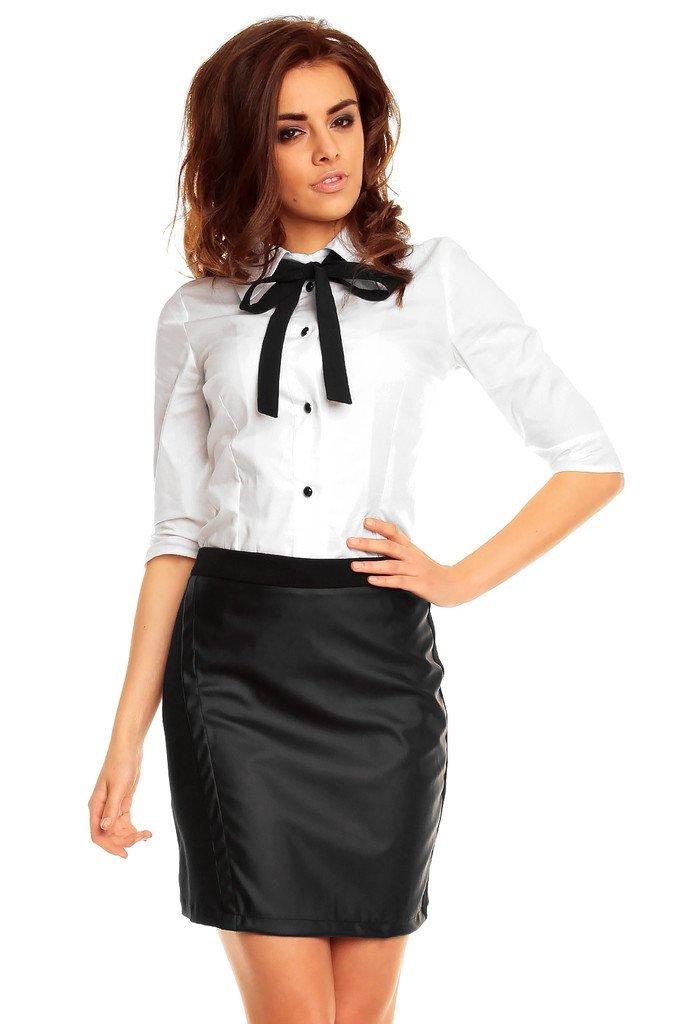 Kožená sukně KM126-1