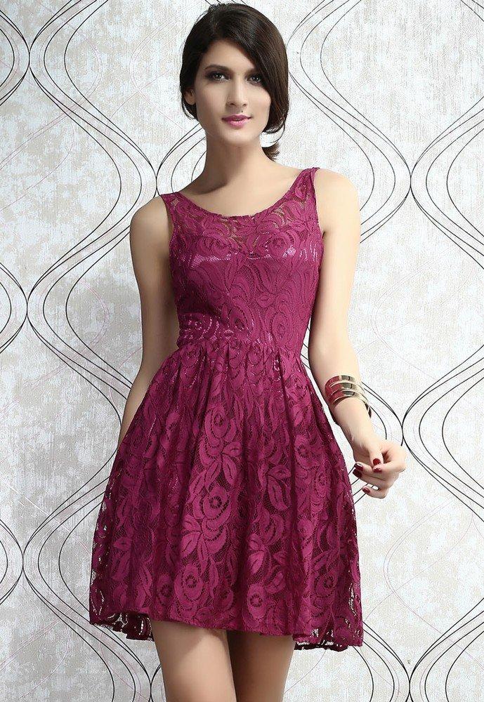 Dámské šaty krajkové d-sat089re