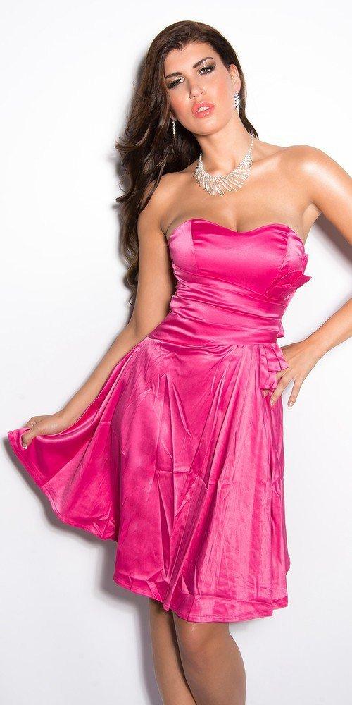 Dívčí společenské šaty růžové in-sat172pi