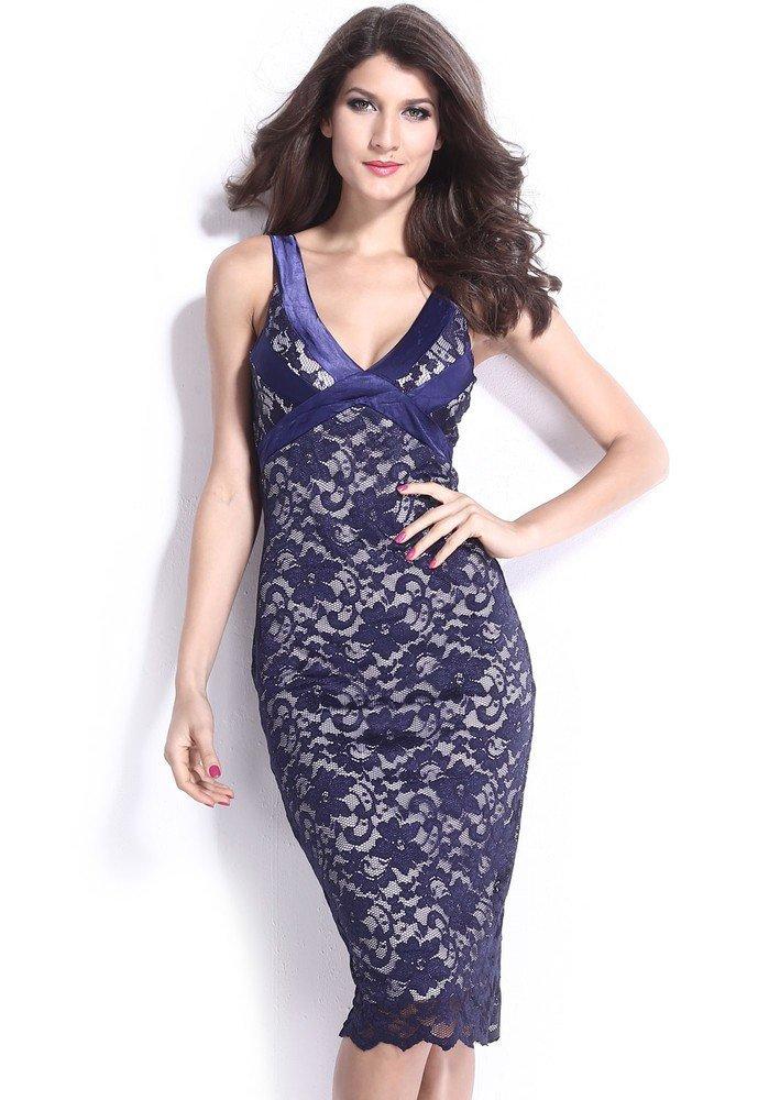 Večerní šaty s krajkou d-sat356mo
