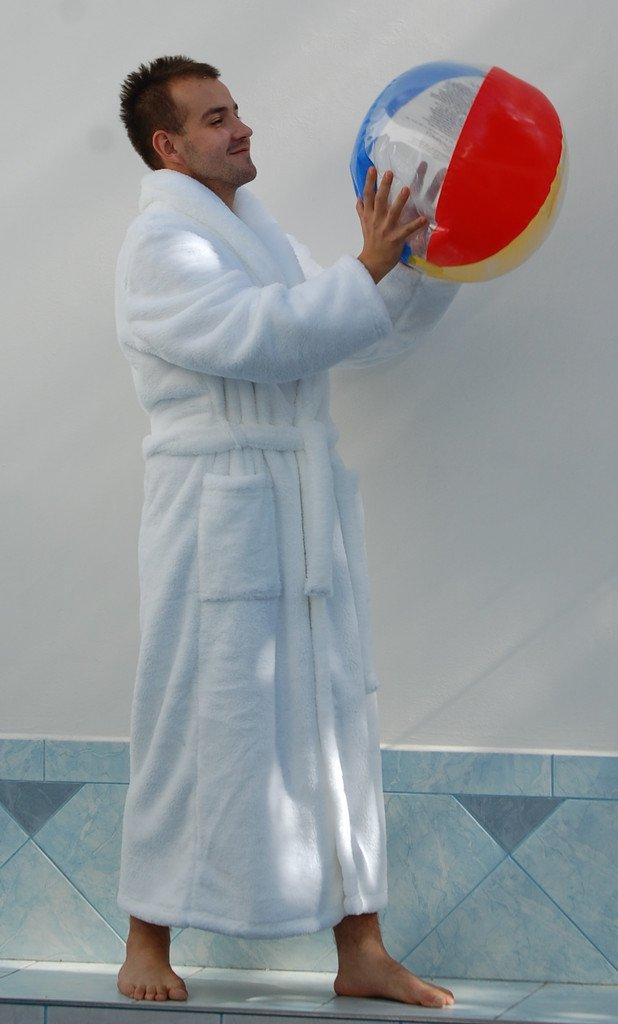 Pánský župan Denis bílý 21 19 0100